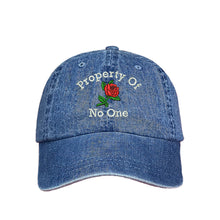Load image into Gallery viewer, Property of No One Dad Hat Attitude Hat - Prfcto Lifestyle