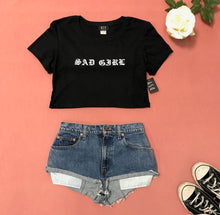 Load image into Gallery viewer, SAD GIRL Sexy Underboob Tee - Prfcto Lifestyle