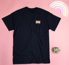 Load image into Gallery viewer, Gay Pride Men's T-shirt - Gay Pride Flag - Prfcto Lifestyle