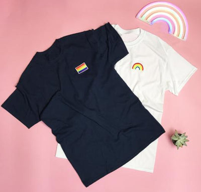 Gay Pride Men's T-shirt - Gay Pride Flag - Prfcto Lifestyle