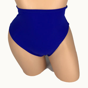 Two Piece Royal Blue Tube Top & High Waist Booty Shorts - Prfcto Lifestyle