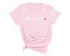 Be Mine Unisex T-Shirt , Light Pink T-Shirt, Be Mine , Printed Shirt, Scoop Neck Shirt, Crewneck, Couples Shirts, Valentines Shirts, DSY Lifestyle Shirt, Made in LA
