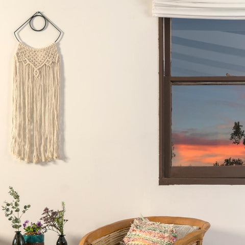 unique macrame wall hanging