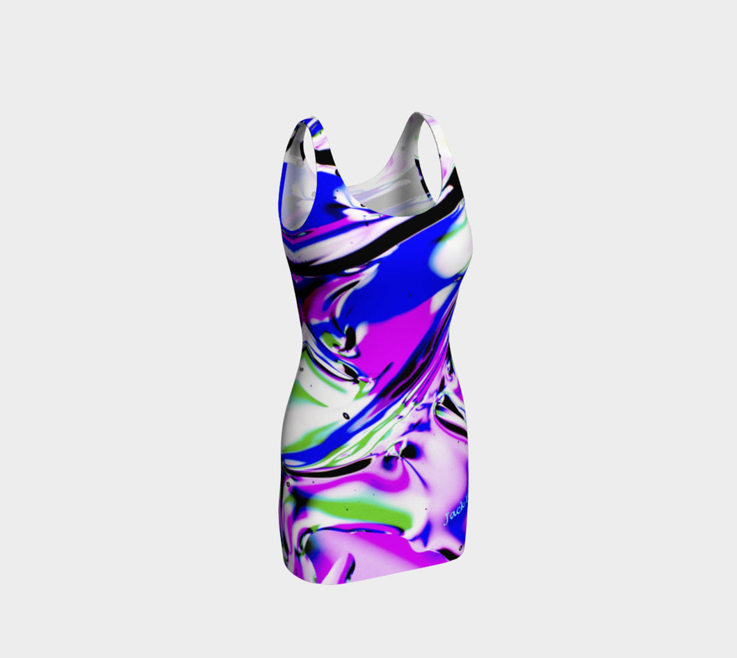 Gel Art #18 Bodycon Dress