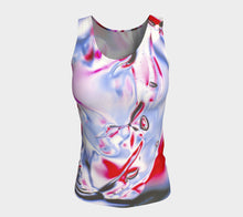 Gel Art #21 Fitted Tank Top