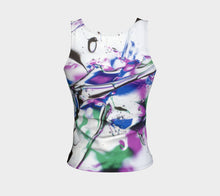 Gel Art #12 Fitted Tank Top