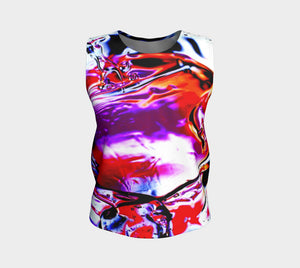Gel Art #14 Loose Tank Top
