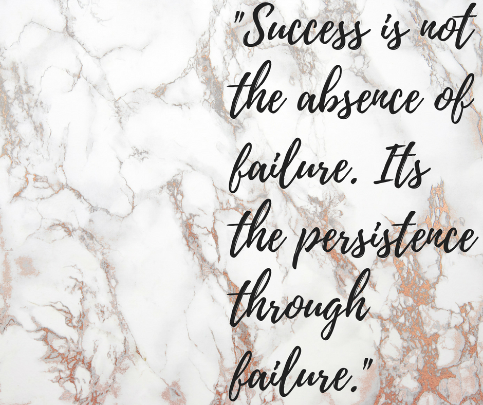 Success is not the Absence of Failure..