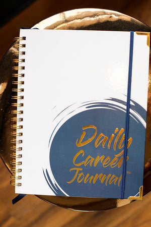 Daily Career Journal Spiral Bound : 8.5 X 11 inches