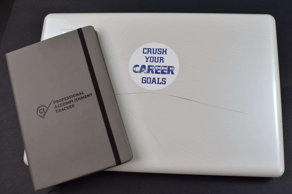 Crush Your Career Goals Sticker (3 Round)
