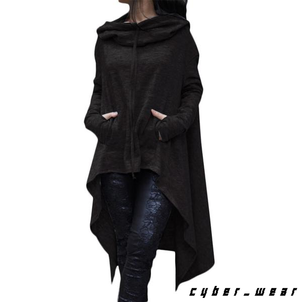women's occult cloak hoodie / street goth