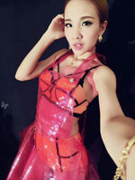 PVC COLORS See Through Dress (MULTIPLE COLORS] - Cyberwear