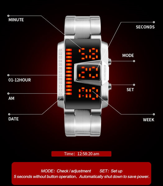HAWK Sports Watch - Cyberwear