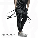 XENO - Men's Strapped Sweatpants Techwear | Cyberpunk