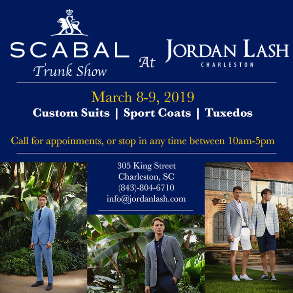 Scabal In-Store Trunk Show March 8-9, 2019