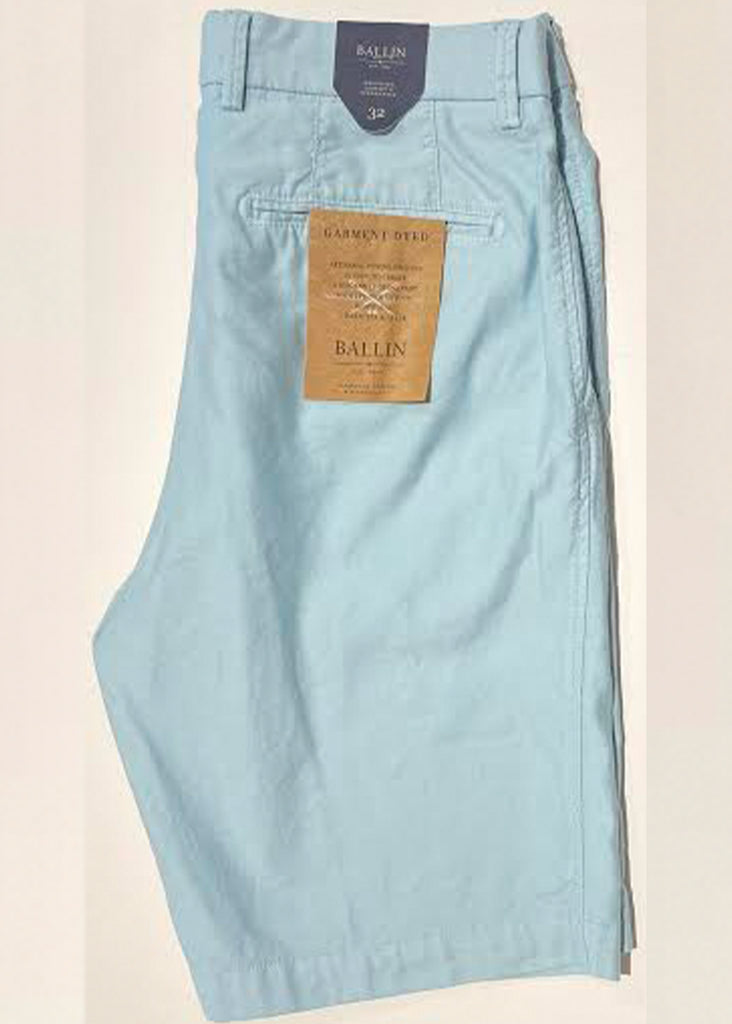 Ballin Stretch Cotton Linen Drummond Short | Sterling Blue - Jordan Lash Charleston