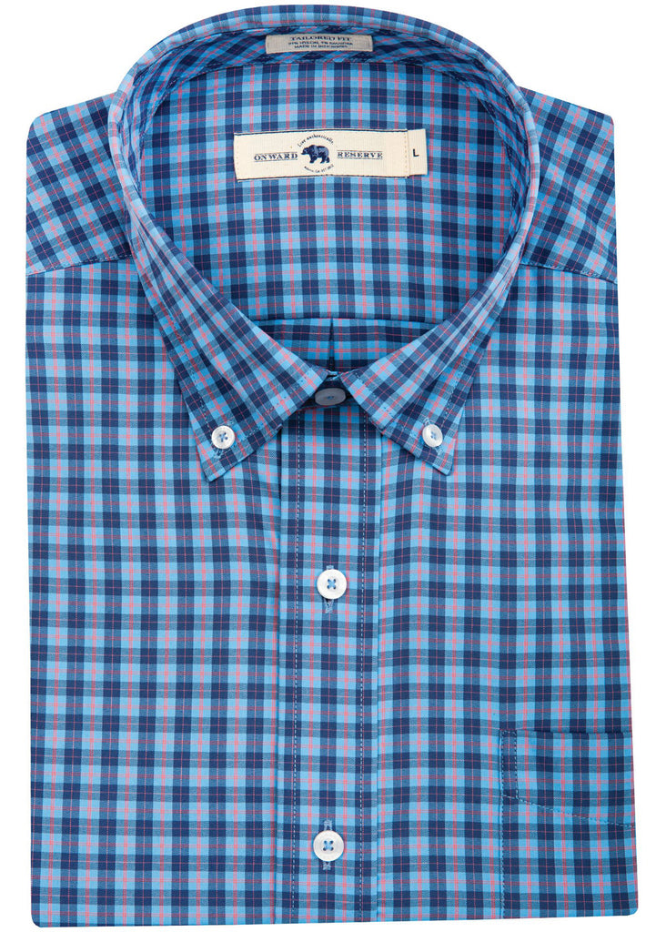 Onward Reserve Tailored Fit Performance Shirt | Penrose - Jordan Lash Charleston