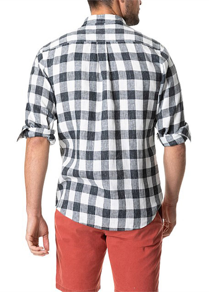 Rodd and Gunn City Block Shirt | Black Pearl - Jordan Lash Charleston