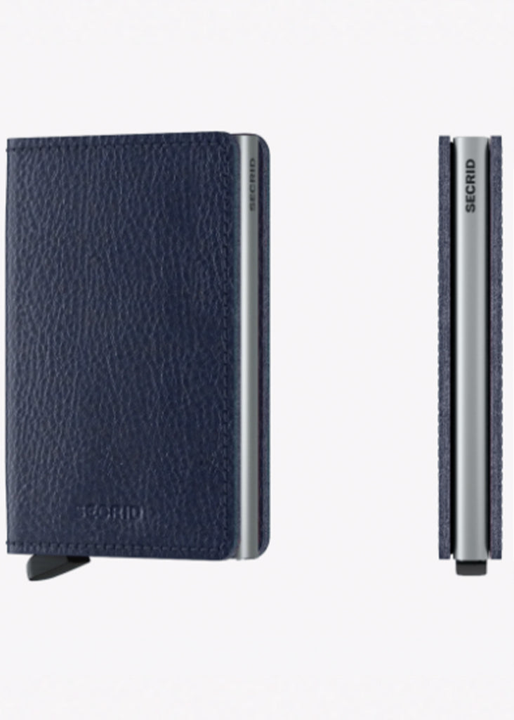 Secrid Slimwallet | Veg Navy and Silver - Jordan Lash Charleston