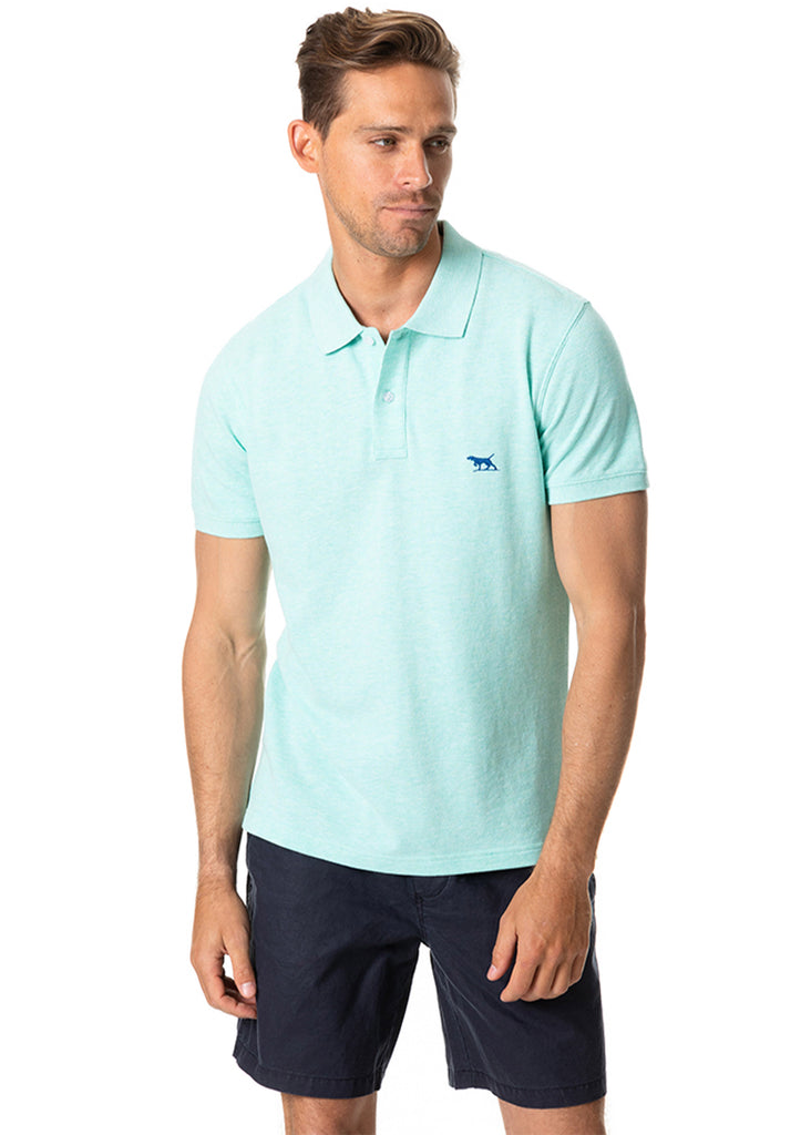 Rodd and Gunn The Gunn Polo | Mint - Jordan Lash Charleston