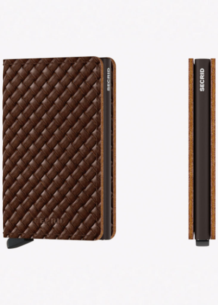 Secrid Slimwallet | Basket Brown - Jordan Lash Charleston