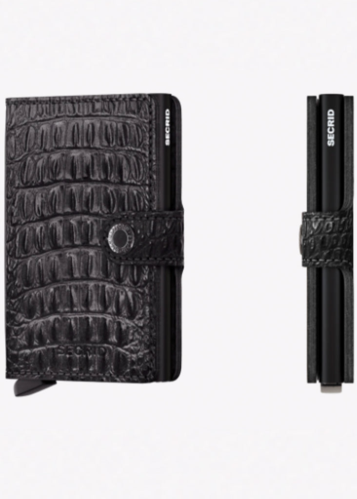Secrid Miniwallet | Nile Black - Jordan Lash Charleston