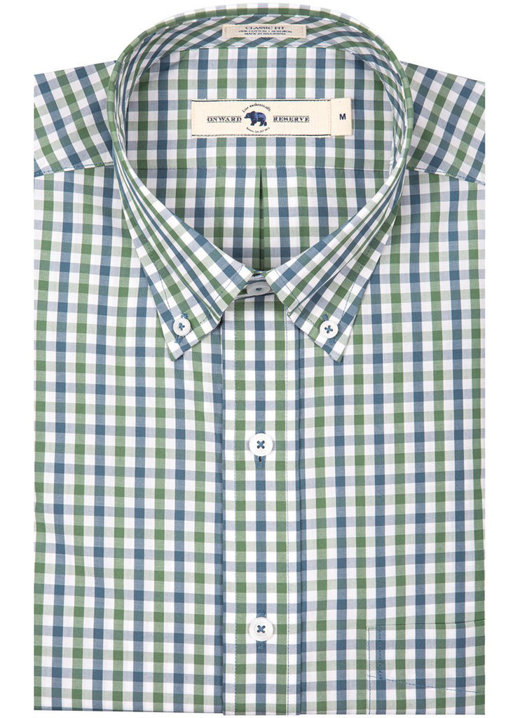 Onward Reserve Classic Fit Cotton Shirt | Krog - Jordan Lash Charleston