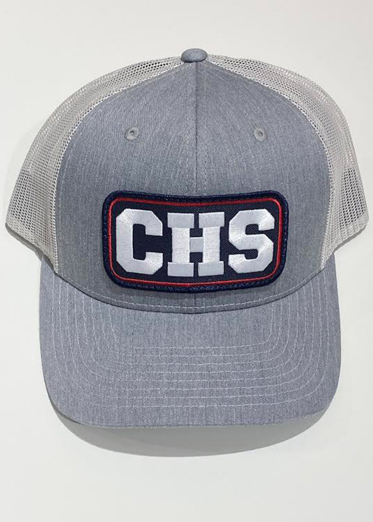 Jordan Lash Charleston CHS Trucker Hat | Grey and Light Grey - Jordan Lash Charleston
