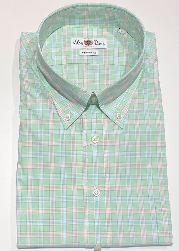 Alan Paine Goldthorpe Shirt | Mint - Jordan Lash Charleston