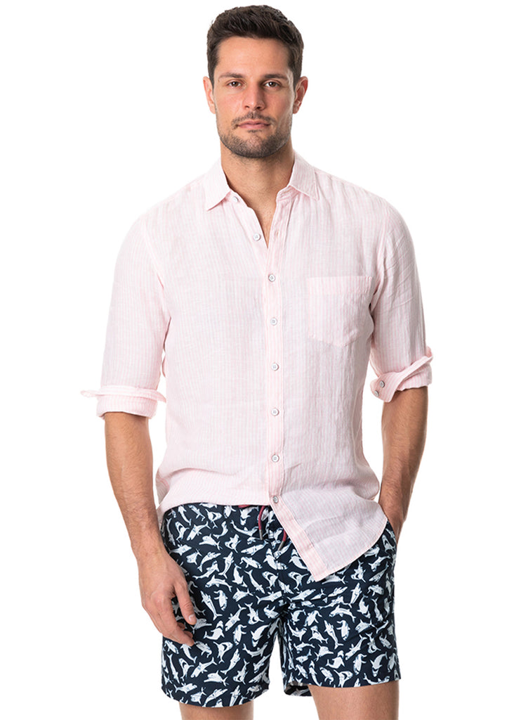 Rodd and Gunn Bay of Islands Shirt | Shell - Jordan Lash Charleston