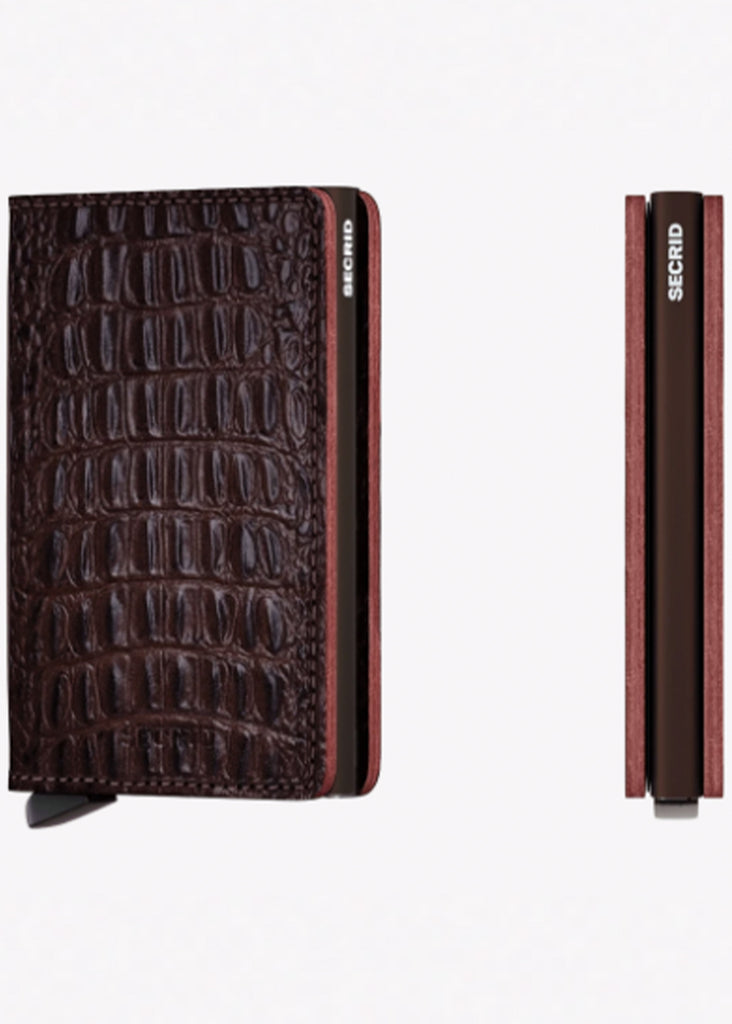 Secrid Slimwallet | Nile Brown - Jordan Lash Charleston