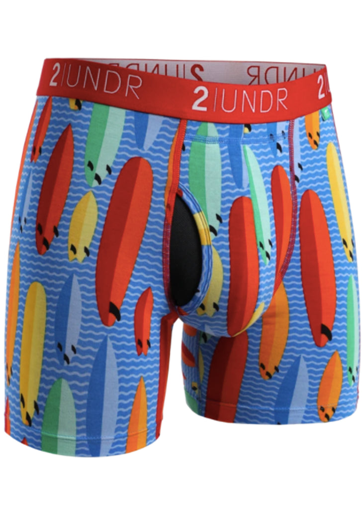 2 UNDR Swing Shift 6 Inch Boxer Brief | Surf Shop - Jordan Lash Charleston