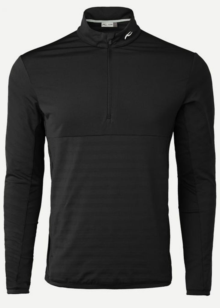 KJUS Men's David Midlayer Half Zip | Black - Jordan Lash Charleston
