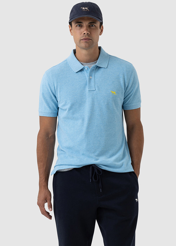 Rodd and Gunn The Gunn Polo | Surf - Jordan Lash Charleston
