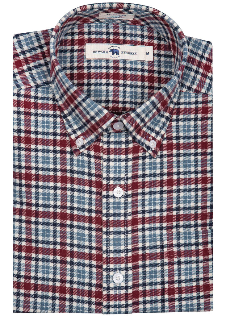 Onward Reserve Tailored Fit Flannel Shirt | Raymond - Jordan Lash Charleston