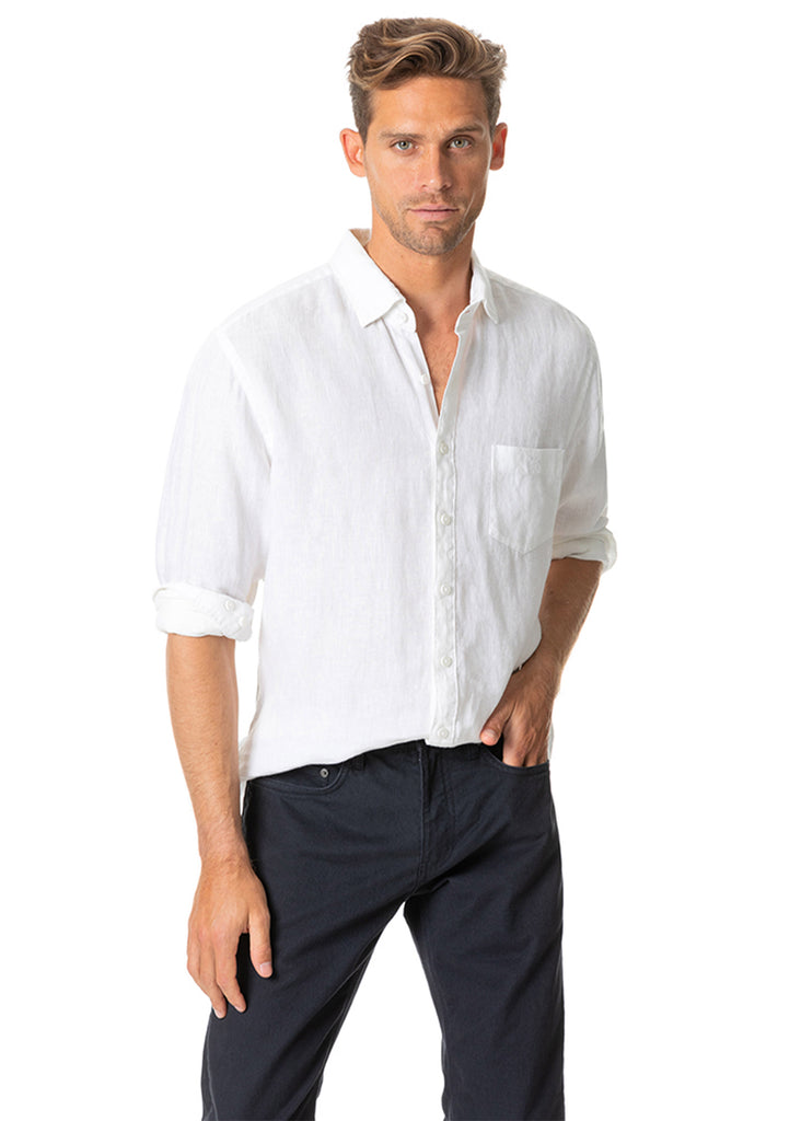 Rodd and Gunn Mount Hutton Shirt | Snow - Jordan Lash Charleston
