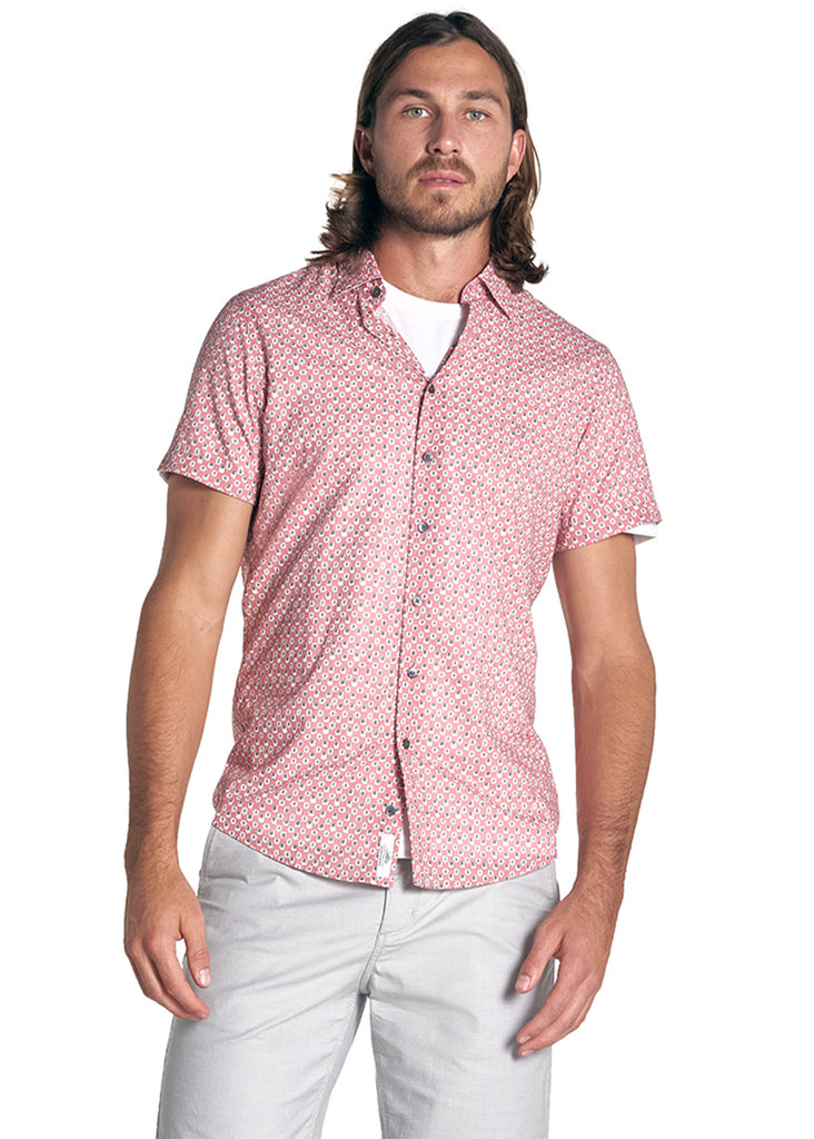 Rodd and Gunn Mclaren Shirt | Dusty Pink - Jordan Lash Charleston