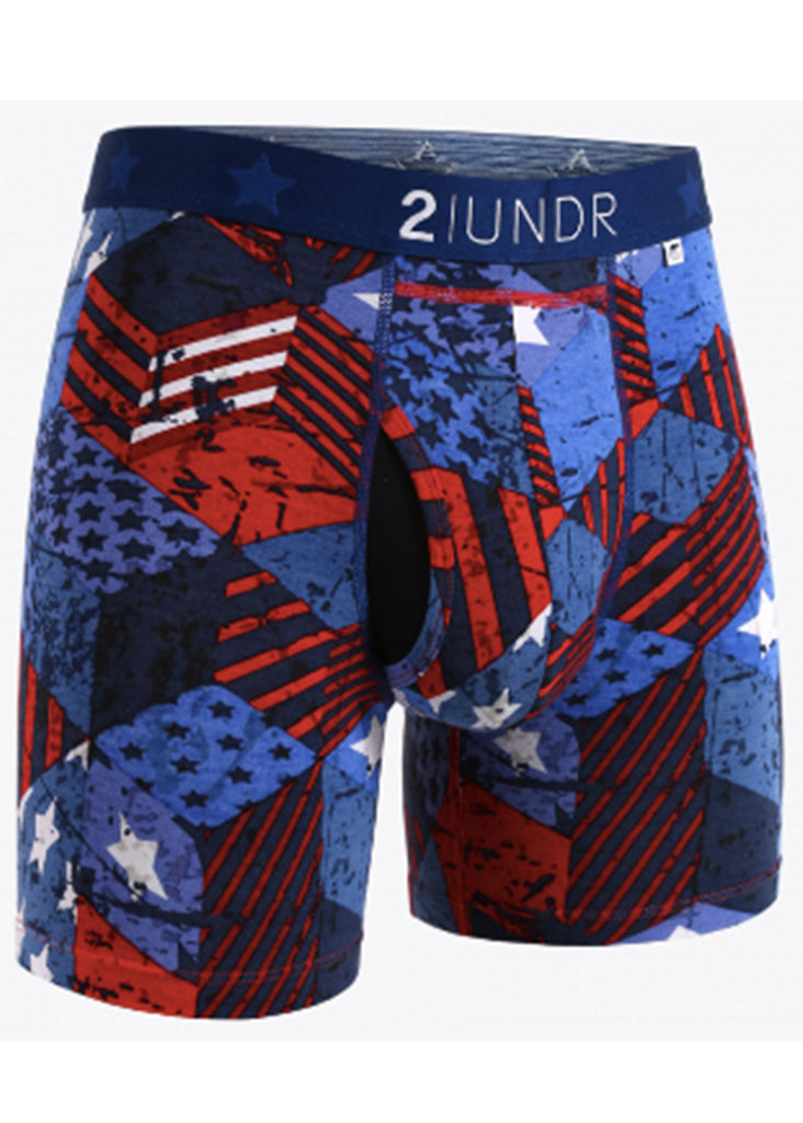 2 UNDR Swing Shift 6 Inch Boxer Brief | Freedom - Jordan Lash Charleston