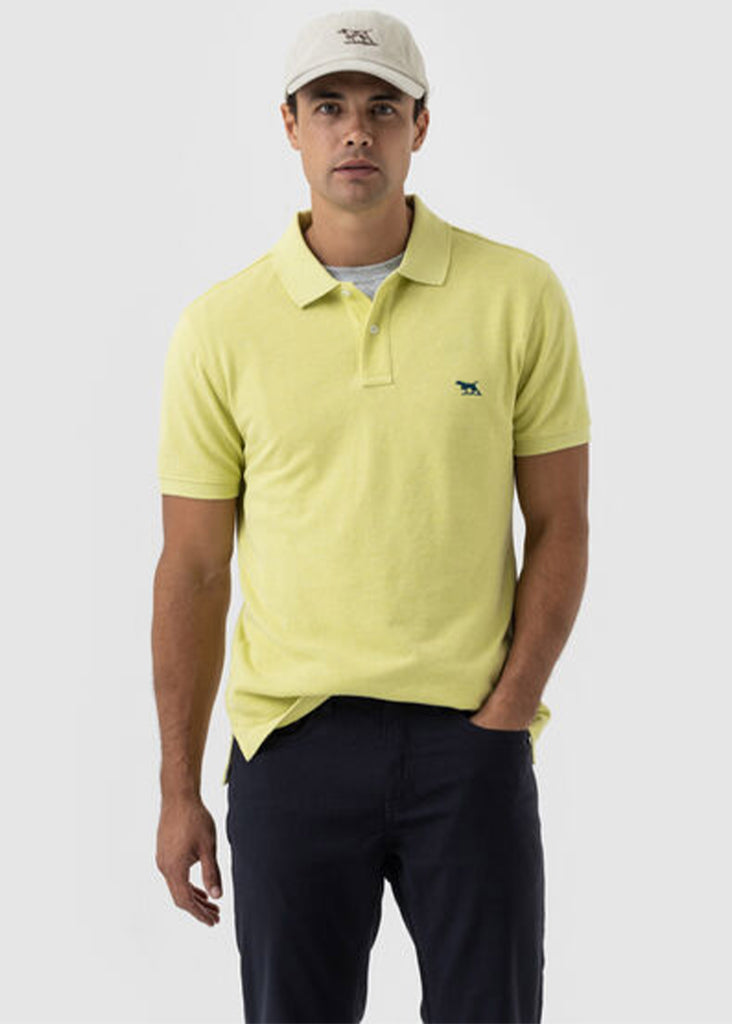 Rodd and Gunn The Gunn Polo | Limoncello - Jordan Lash Charleston
