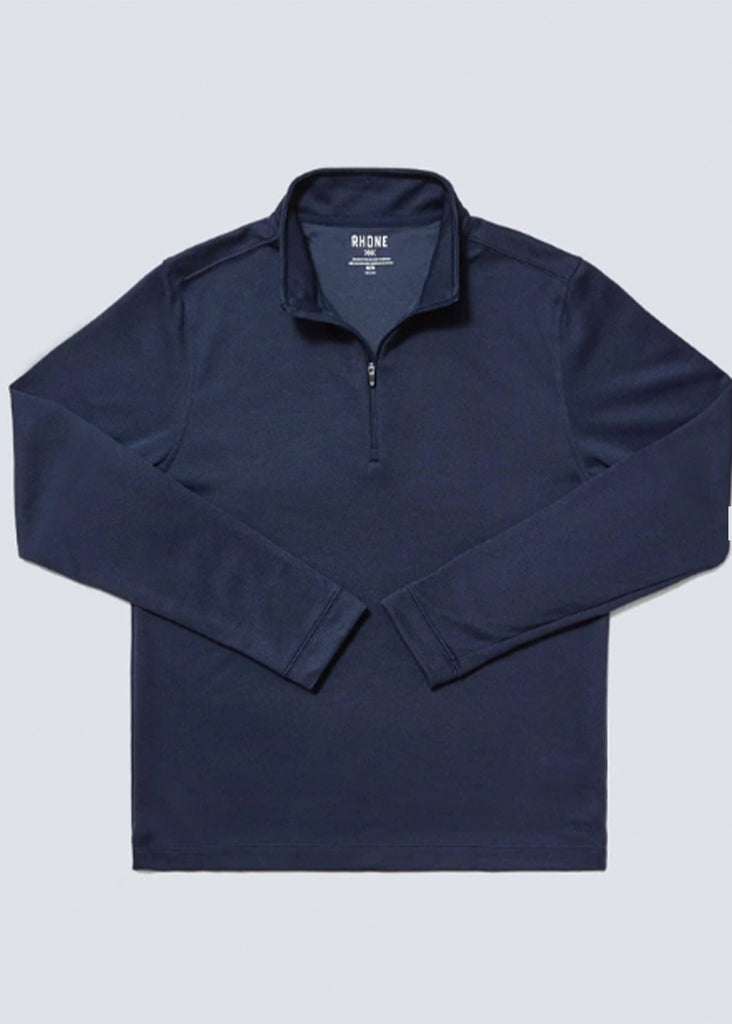 Rhone Commuter 1/4 Zip | Navy - Jordan Lash Charleston
