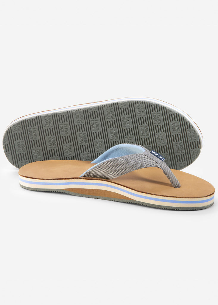 Hari Mari Scouts Flip Flops | Gray and Blue - Jordan Lash Charleston