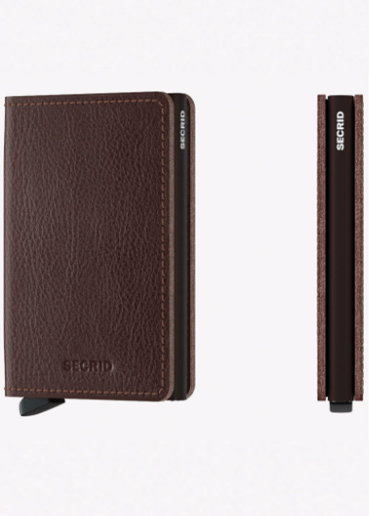 Secrid Slimwallet | Veg Espresso and Brown - Jordan Lash Charleston