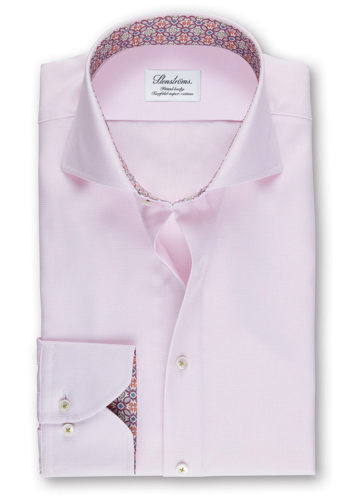 Stenstroms Light Pink Fitted Body Shirt - Jordan Lash Charleston