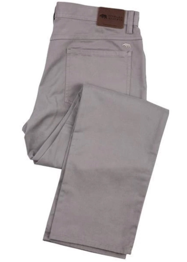 Onward Reserve Five Pocket Stretch Pant | Steel Grey - Jordan Lash Charleston