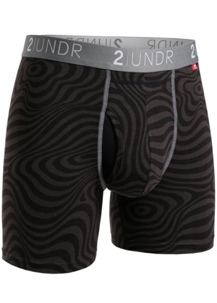 2 UNDR Swing Shift 6 Inch Boxer Brief | Zebrata - Jordan Lash Charleston