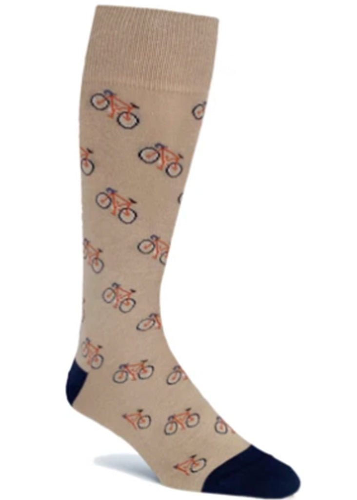 Ell & Atty Bicycle Sock | Khaki - Jordan Lash Charleston