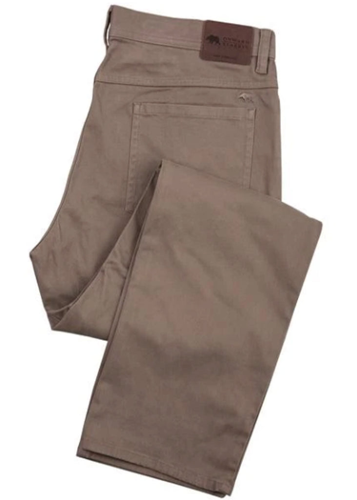 Onward Reserve Five Pocket Stretch Pant | Walnut - Jordan Lash Charleston