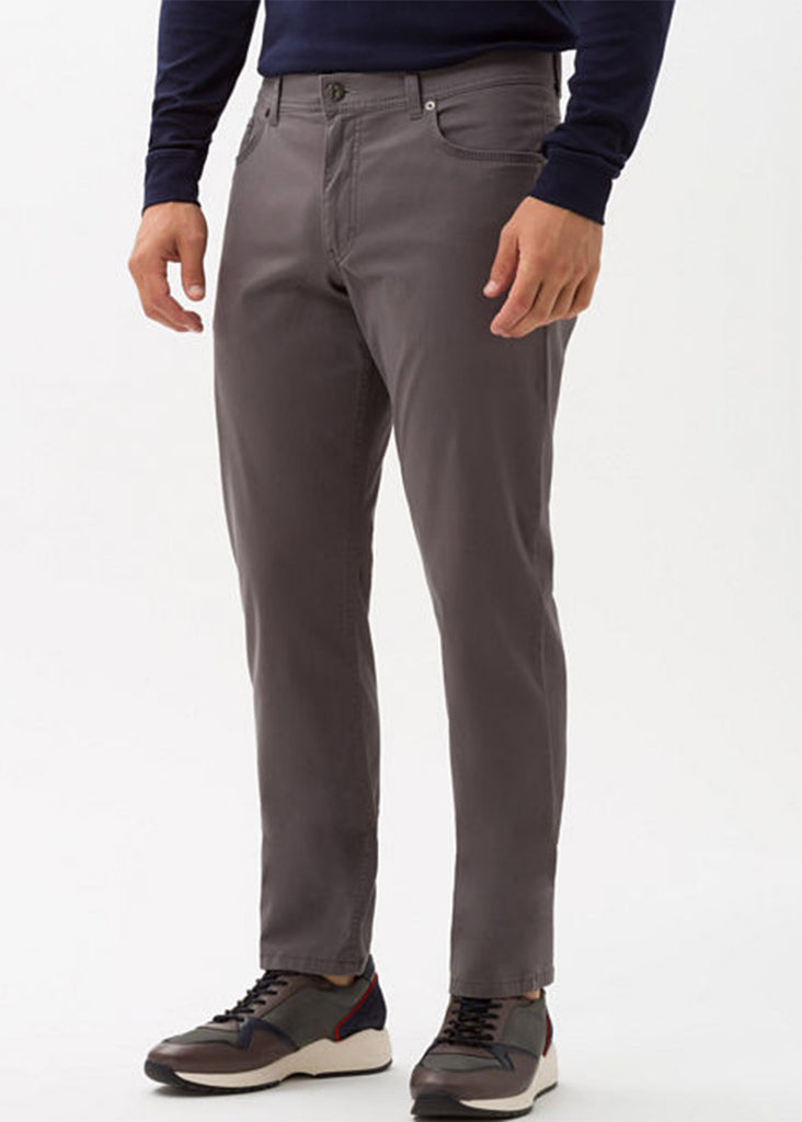 Brax Prestige Year Round  Cooper Fancy Pant | Anthra - Jordan Lash Charleston