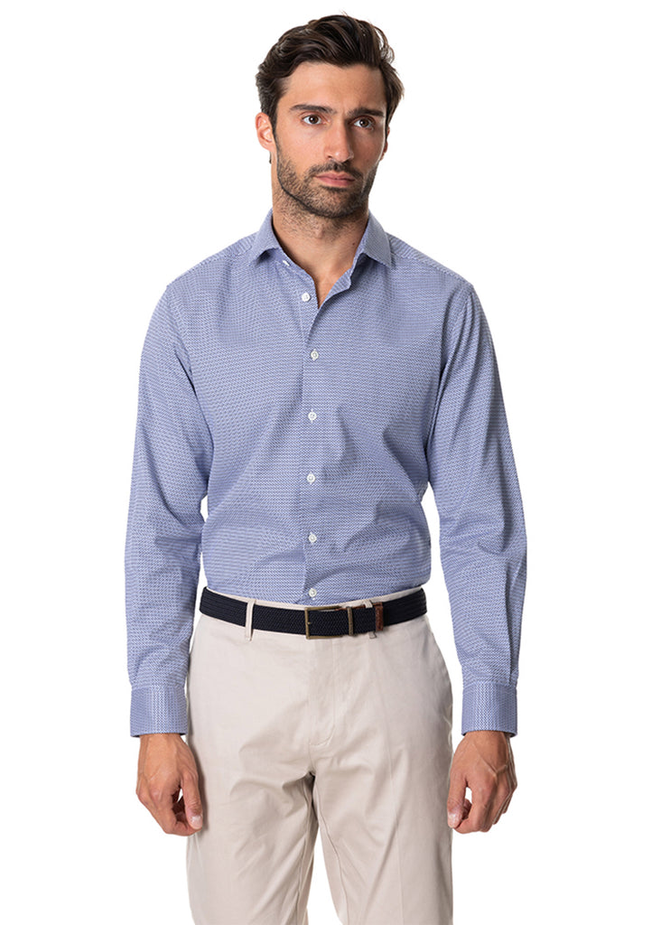 Rodd and Gunn Forest Park Shirt | Sapphire - Jordan Lash Charleston