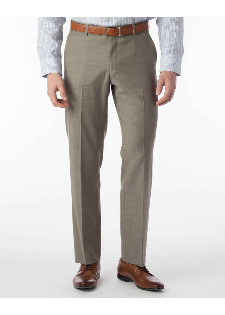 Ballin Super 110's Comfort Eze Sharkskin Soho Dress Pants | Brittish Tan - Jordan Lash Charleston